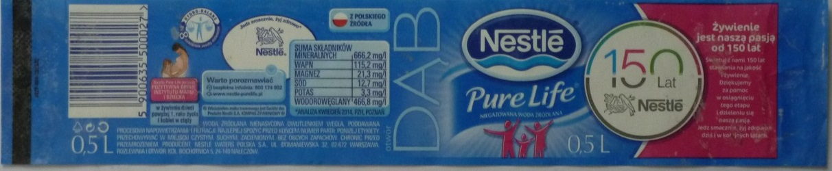 Poland - Nestle DAB 0,5l